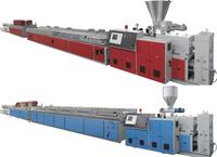 machine for produce pvc wall panel, wpc pvc profile production line