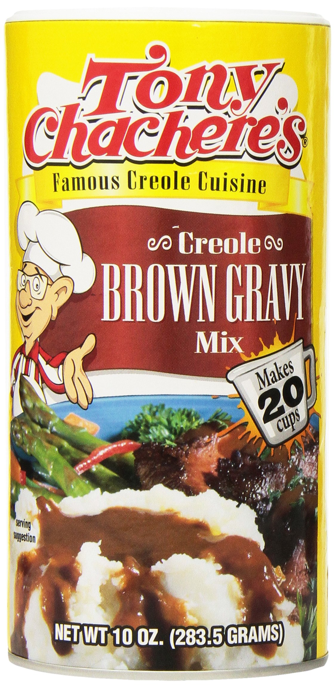 Tony Chachere's Mix, Creole Brown Gravy, 10-ounces (Pack of 2)