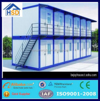 china cheap prefab living 20ft container easy assembled houses