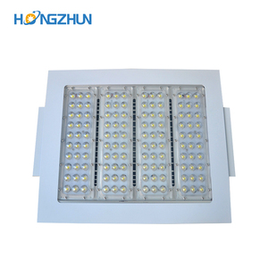High quality Meanwell driver 120 watt 150watt aluminum materials led canopy light used for gas station
