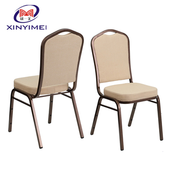 Stacking Hotel Banquet Iron/Steel Chair On Sale