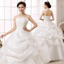 <span class=keywords><strong>Wedding</strong></span> Gown DRESS Gauze & Nylon Con Lắc Lớn Loại & Backless & OFF Vai & Ống Chắp Vá 221751