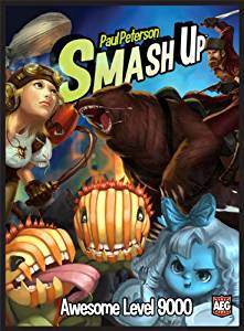 Smash Up Awesome Level 9000 Board Game