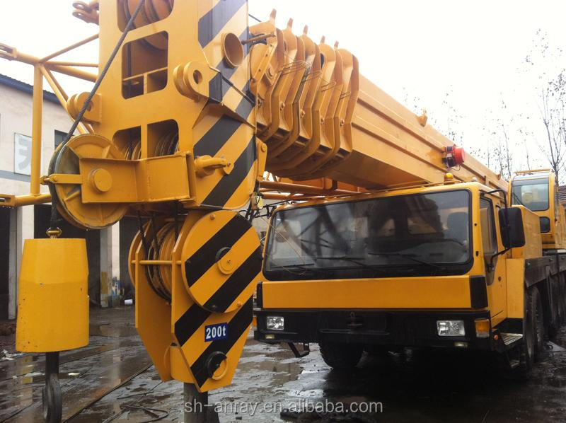 200 ton Liebherr LTM 1200 truck mounted crane for sale, 200 ton mobile crane of good condition and cheap price!