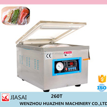 vacuum sealer packaging machine DZ260T sigle room easy to use home vacuum machine