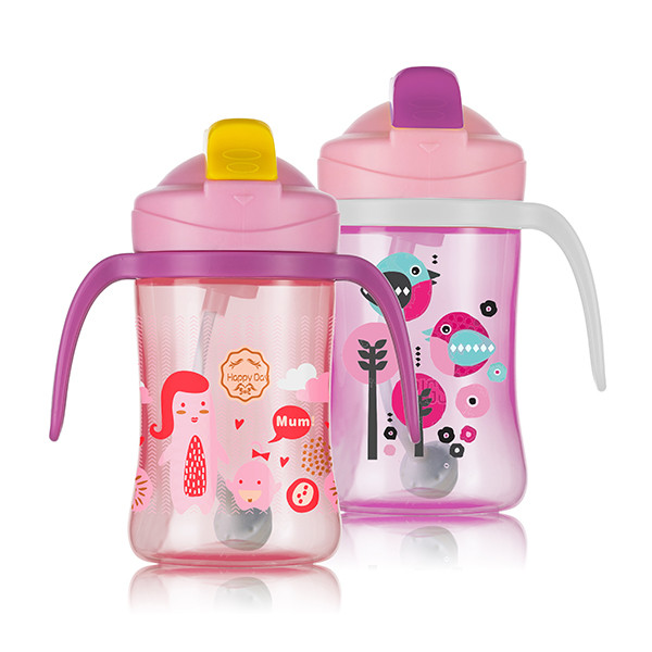 sample welcome letter new customer BPA free kids Straw Trainer Cup baby Straw Sippy Cup