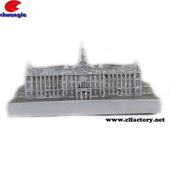 Hot Promotional Building Model Craft Gifts for Customize building design resin material 3D mold