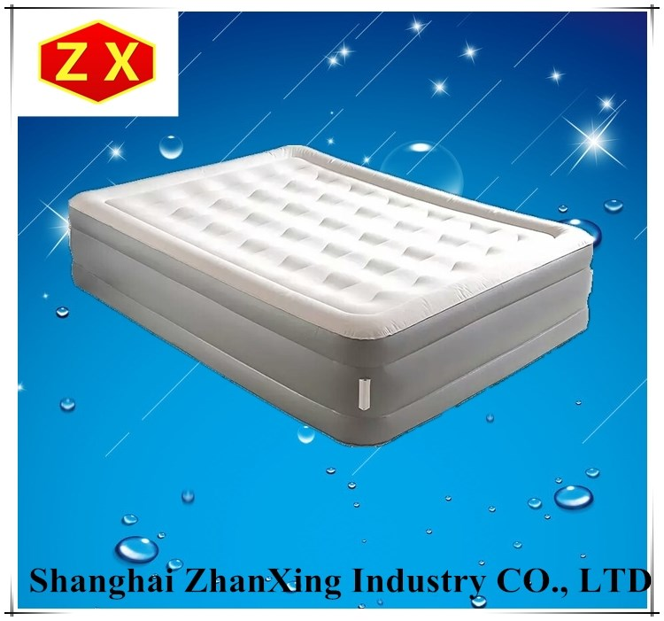 180-70cm Plastic Inflatable Air Folding Camping Bed/mattress
