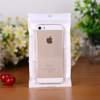 New Products 2018 Printed Ziplock Recycled Plastic Package Cell Phone Case Packaging Bag&