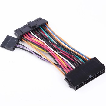 Electronic Component 24 Pin ATX male to female motherboard power extension cable