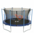 10ft trampolines with marine safety net container safety net