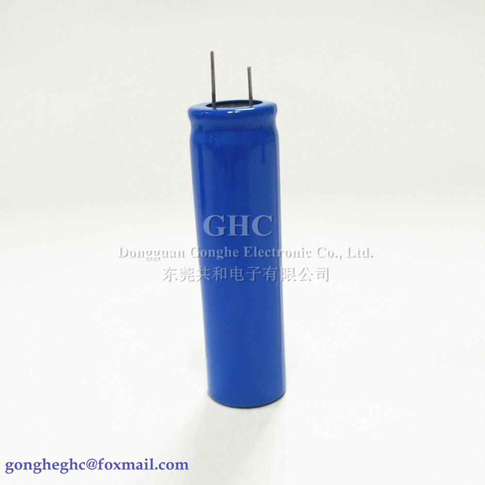 19x65mm super capacitor 2.7v3000f Low leakage current capacitor