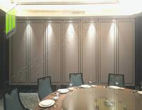 folding door partition for restaurant room partition Sliding folding doors partition interior room divider for hotel restaurant