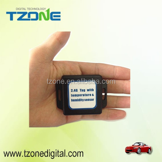 cold storage 2.4G RFID <strong>temperature</strong> and humidity sensor active Tag compatible with different RFID receiver