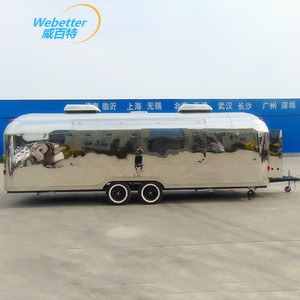 Top quality food truck mobile food trailer sales service provided food truck for sale europe
