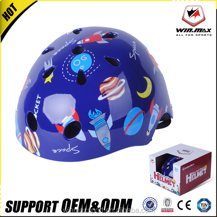 2017 new design 11 air vent ABS safety kids bike helmet