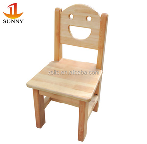 Solid wood child chairs, kids kindergarten table and chairs