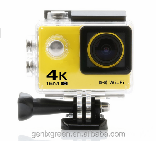 Outdoor sports lovers best wanted Waterproof Mini sport action camera for any Game Sports hd wifi 4k 360 action camera