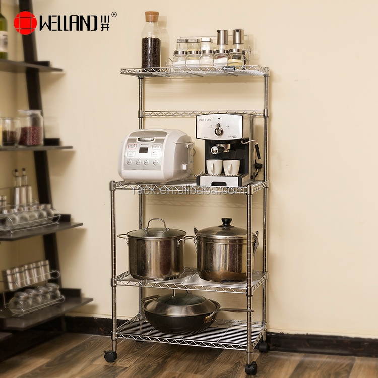 Diy Chrome Metal Kitchen Utensil Rack Stand - Buy Kitchen Utensil  Stand,Rack Stand,Kitchen Utensil Rack Product on Alibaba.com