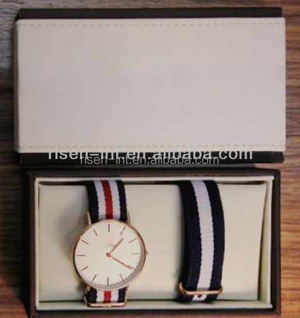 luxury paper cardboard personalized watch packging box