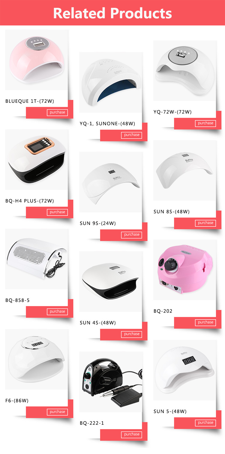 2019 new arrivals nail lamp 120w uv led lamp gel polish nail dryer