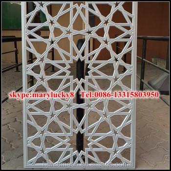 Decorative Metal Garden Screens Laser Engraving Cutting