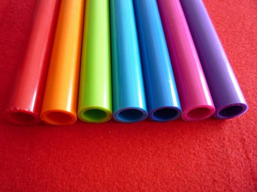 Pvc Ronde Buis/color Pijp/tube-kunststof Profielen-product