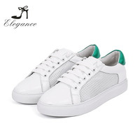 2017 New Style Student Shoes Breathable Mesh White Sneakers For School