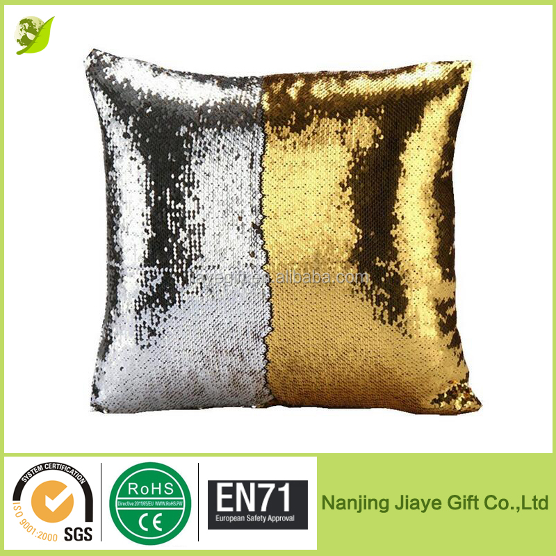 Custom 2 Colors Reversible Sequin Mermaid Pillow