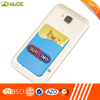 Christmas Adhesive silicone smart cell phone wallet gifts