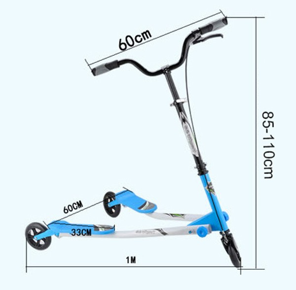 Double pedal scooters for adults,speeder scooter