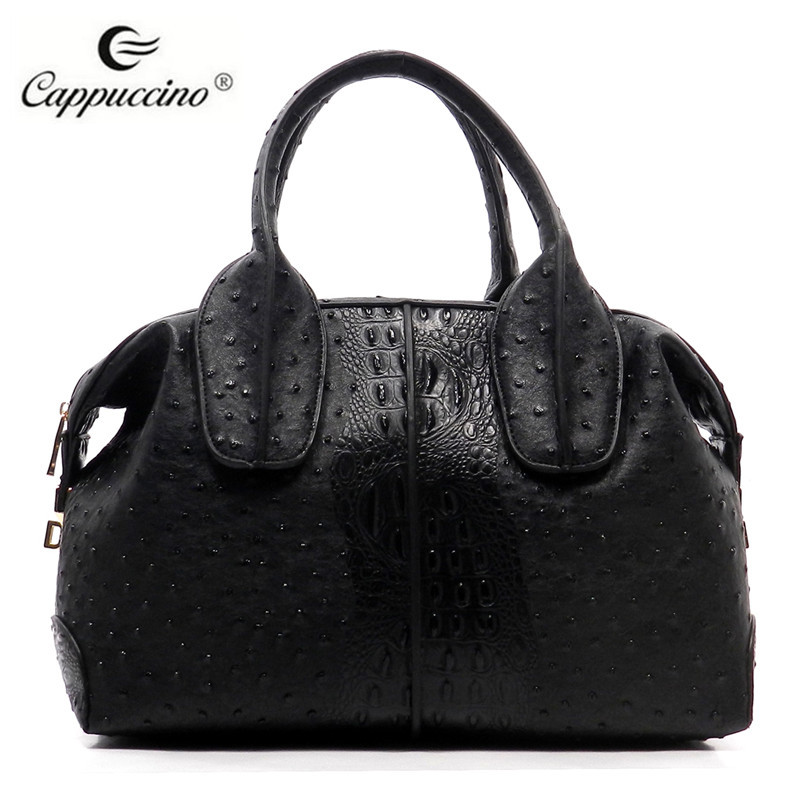 ee44a697181d Brand handbags made in china Croc Ostrich Top Handle tote bag hand bags  designer