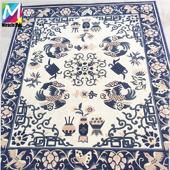 Luxury Tibetan Commercial Grade Carpet Casino Cheap Carpet Wool Handmade Carpet