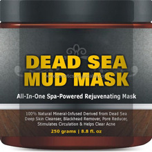 Natural Minerals dead sea mud mask for men and women