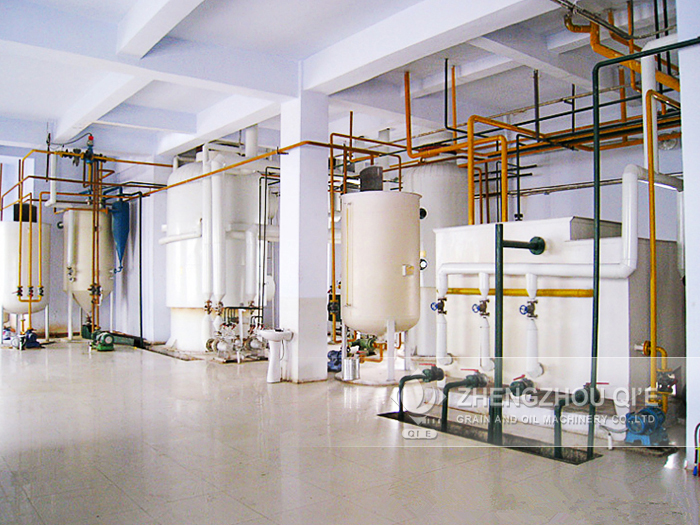 <b>High quality crude palm oil refining machine</b>