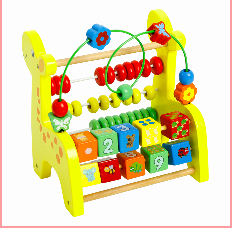 Children Toys New Style Educational Wooden Toys Deer Style ...