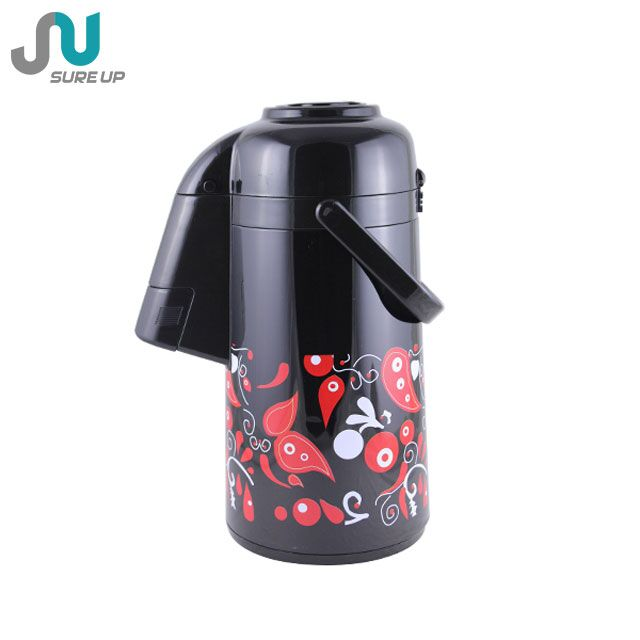 Colorful press pump system big thermos coffee cup(AGUS-M)