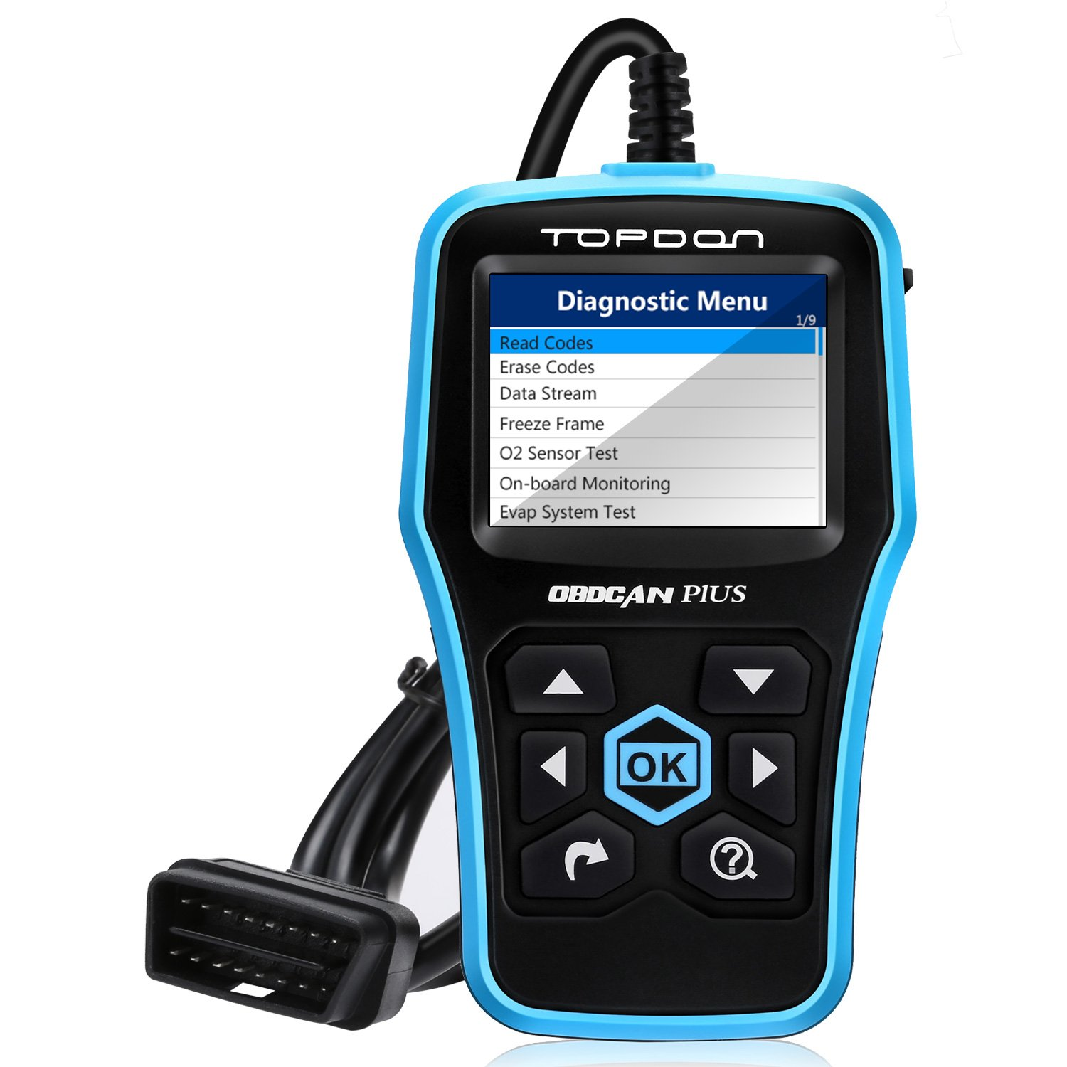 Get Quotations · Code Reader, TT TOPDON Car Computer Diagnostic Tool OBD2  Scanner Read/Clear Engine Codes