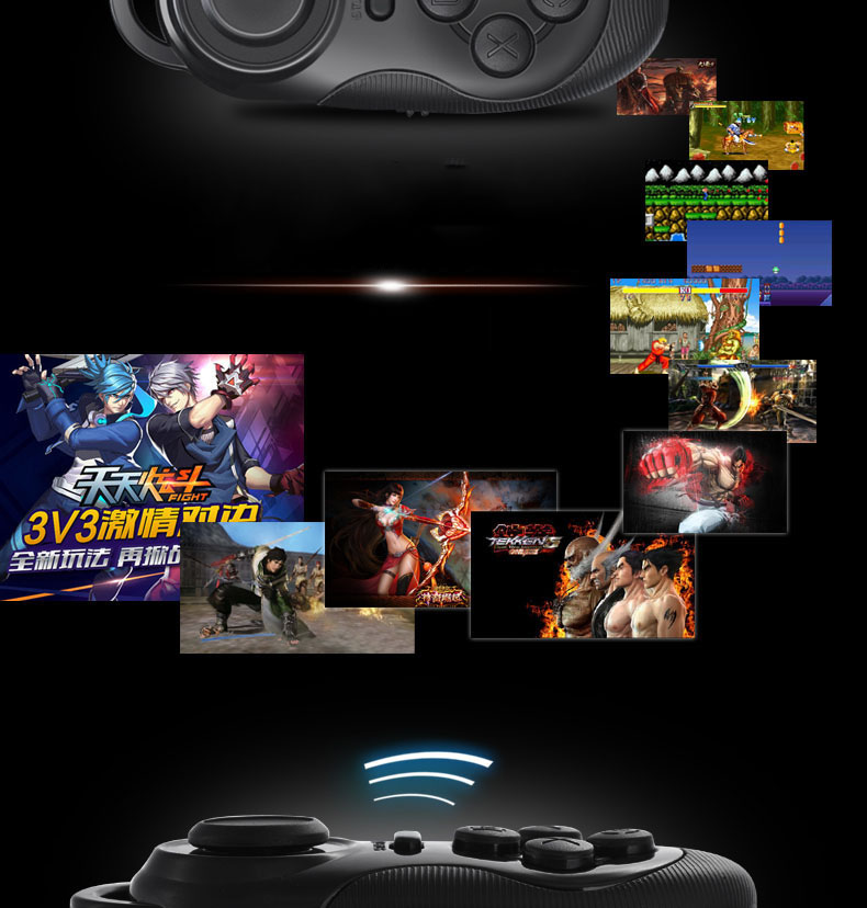Bluetooth gamepad compatible with Android IOS mini self
