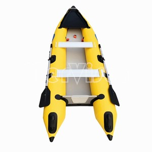 Cheap Made China 0.9 PVC Inflatable Fishing Kayak 390 for Sale UK