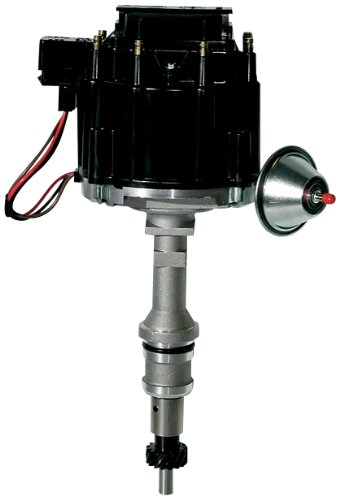 Proform 66941BM Mechanical Lockout HEI Racing Distributor with Steel Gear and Blue Cap for Chevy V8