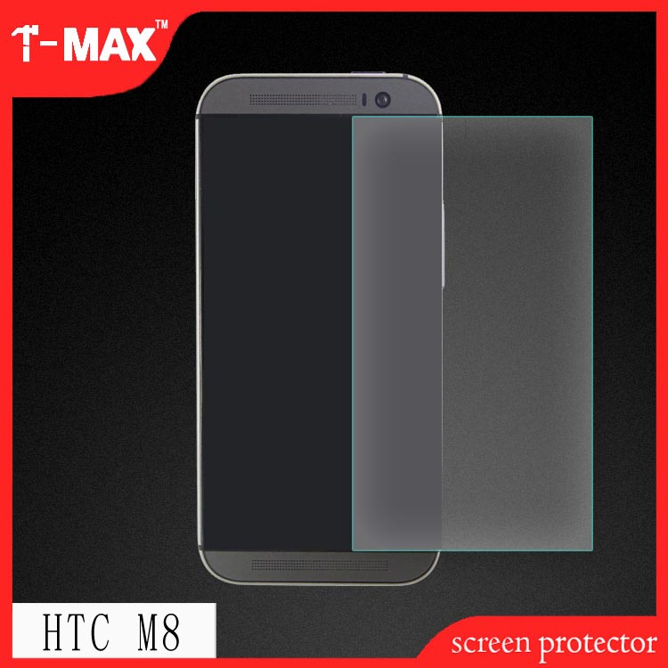 Wholesale alibaba china market tempered glass screen protector for HTC ONE M8