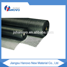 high quality warp knitted fiberglass geogrid glass for sale
