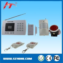 gsm wireless security supermarket alarm system /shop anti-theft alarms system