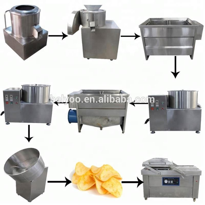 6cm french finger fries production line french-fried potatoes machine economic