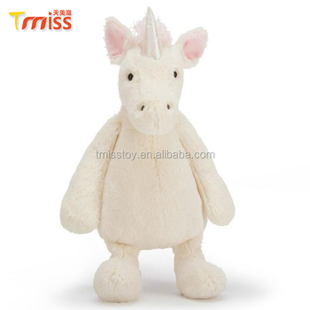 Plüsch Weichen Großes Nette Weiße Einhorn Spielzeug Für Kinder Buy