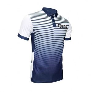 Sublimation Printing Polo Shirt Athletic Fit