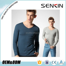 Autumn Long sleeve blank t shirt for Men 100% Combed cotton Promotion Plain t shirt OEM