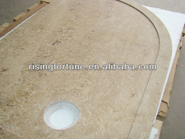 Travertine Shower Base, Travertine Shower Base Suppliers And Manufacturers  At Alibaba.com