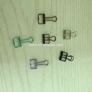 Fancy office metal quality file Binder Paper Clips SMALL